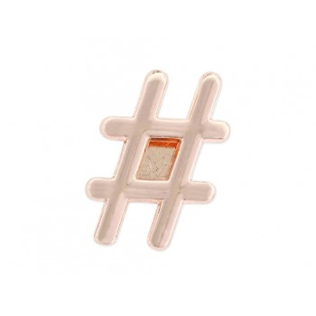 Charm alloy hastag - LM11-R