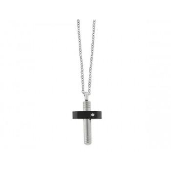 Colgante cruz acero - 845CD462