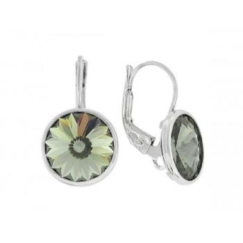 Pendientes plata y cristales Swarovski® - LSW3131A-G
