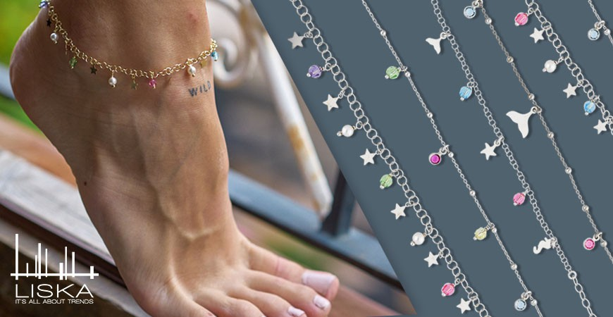 Anklets, the summer star jewel