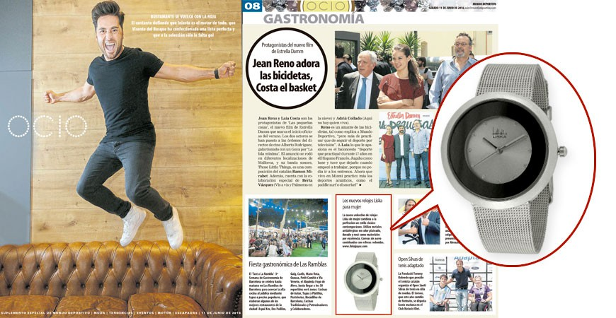 Liska Watch in Mundo Deportivo