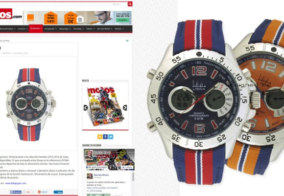 Liska Watch in Cosas de Motos