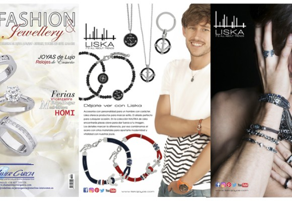 Jewelery for men in RB magazine